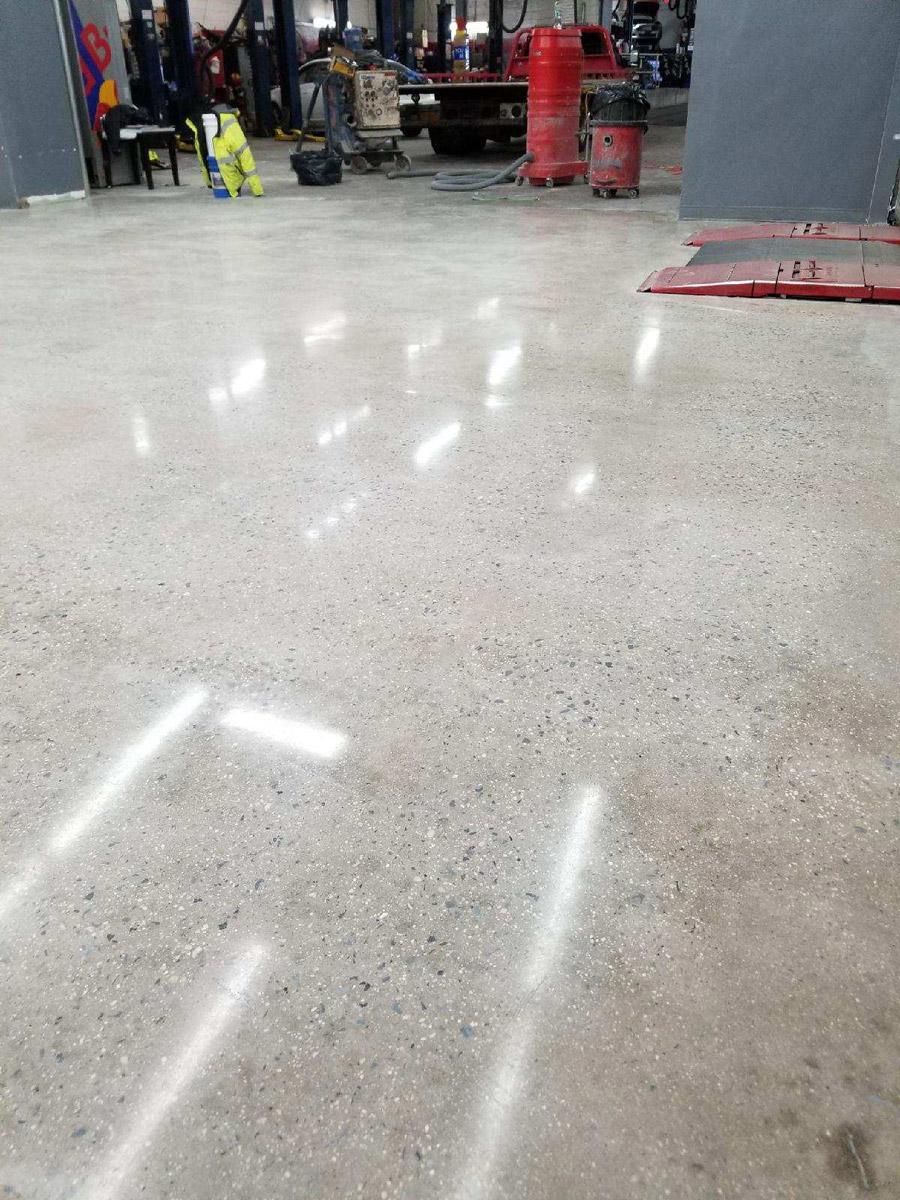 Gem Polished Concrete Flooring Contractors Prep Crete Nj Ny