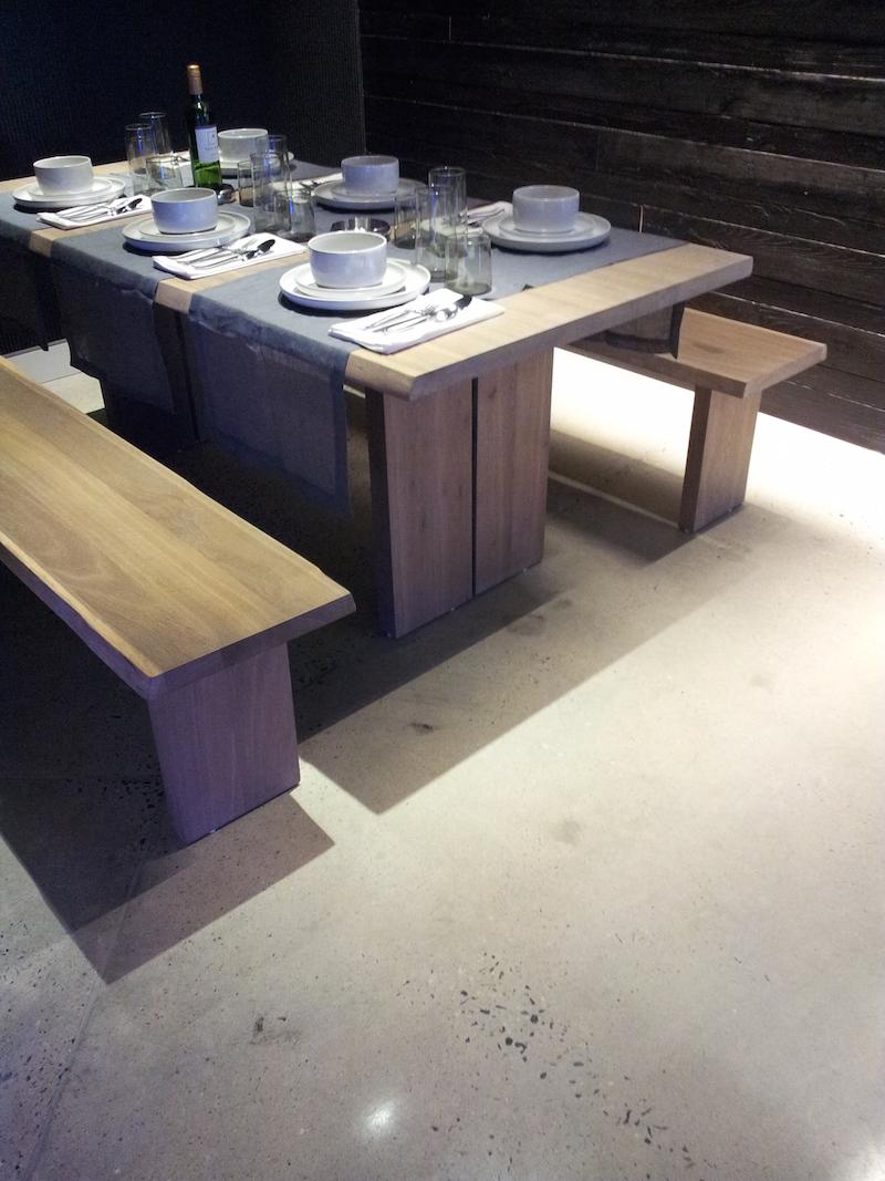 Gem Polished Concrete Flooring Contractors PrepCrete NJ NY - Concrete dining table maintenance