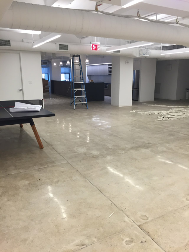 A Patented Means To Permanently Strengthen Concrete Floors That Delivers Highly Abrasion Resistant Dustproofed Surface With Increased Impact Resistance