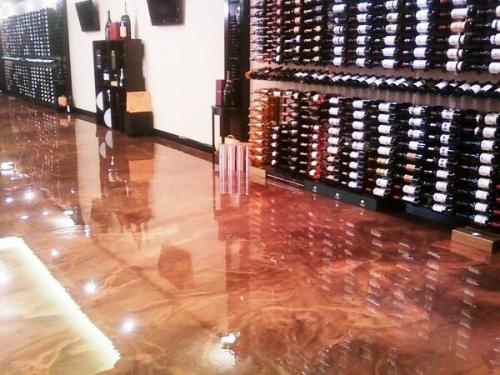 Designer Epoxy Floor Wine Chateau NJ