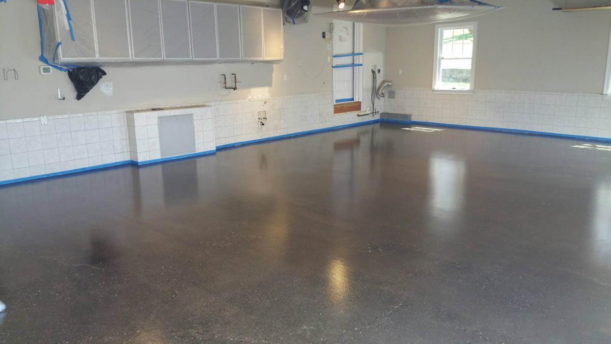 Raw Sealed Concrete Contractors Prep Crete New Jersey